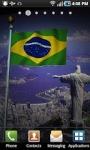 Brazil Flag LWP screenshot 2/2