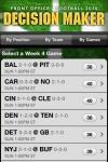 Decision Maker - Football '10 screenshot 1/1