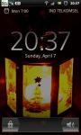 Glowing Red Lantern Live Wallpaper screenshot 2/6