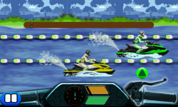 Drag Race Jetski 240x400 screenshot 4/6