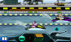 Drag Race Jetski 240x400 screenshot 5/6