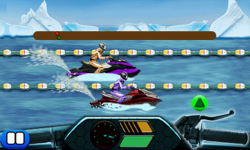 Drag Race Jetski 240x400 screenshot 6/6