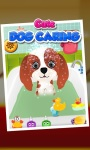 Cute Dog Caring 4 - Kids Game screenshot 2/5