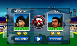 Quick Soccer J2ME screenshot 2/6