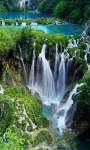 Beautiful forest waterfall Wallpaper HD screenshot 2/3
