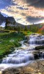 Beautiful forest waterfall Wallpaper HD screenshot 3/3