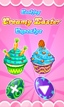 Cooking Creamy Easter Cupcakes screenshot 1/5