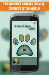 Animal Quiz 2015 screenshot 1/6