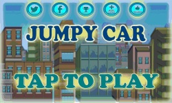 Jumpy Car addicting game screenshot 1/4