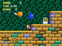 Sonic and Knuckles  Sonic  screenshot 1/4