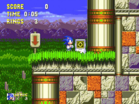 Sonic and Knuckles  Sonic  screenshot 2/4
