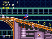 Sonic and Knuckles  Sonic  screenshot 3/4