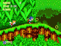 Sonic and Knuckles  Sonic  screenshot 4/4