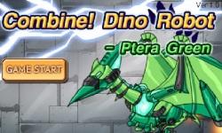 Combine Dino Robot Ptera Green screenshot 2/5