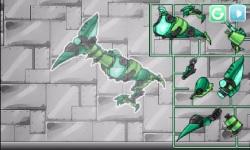 Combine Dino Robot Ptera Green screenshot 3/5