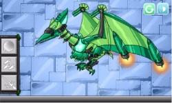 Combine Dino Robot Ptera Green screenshot 4/5