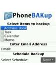 PhoneBAKup OTA Backup - BlackBerry screenshot 1/1