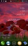 Poppies lwp screenshot 2/6