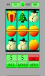 Slot Machine Christmas screenshot 1/6