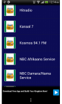 Namibian Streaming Radio News Sport Music screenshot 1/5