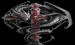 Dragon Cross Live Wallpaper screenshot 2/3