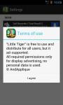 Little Tiger LWP screenshot 4/4