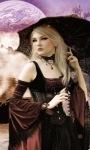 Pretty Gothic Girl Live Wallpaper screenshot 3/3