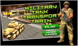 Military Tank Transport Train screenshot 1/5