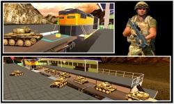 Military Tank Transport Train screenshot 4/5