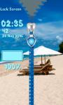 Summer Zipper Lock Screen Free screenshot 5/6