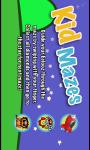 Kid Mazes Free screenshot 4/4