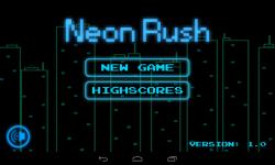 Neon Rush screenshot 1/4