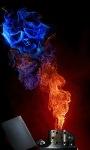 Skull Lighter Live Wallpaperr screenshot 1/3