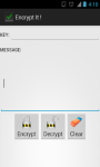 Encrypt - Decrypt Text screenshot 1/5