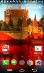 Poland Flag Live Wallpaper FREE screenshot 1/6