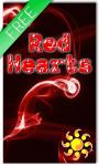 Red Hearts Live Wallpaper HD Free screenshot 1/2