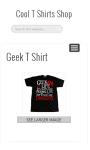 Cool T Shirts Shop screenshot 2/4
