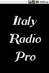 Italia Radio  Pro screenshot 1/3