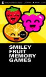 Smiley Fruit Memory Games screenshot 1/6