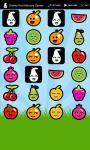 Smiley Fruit Memory Games screenshot 4/6