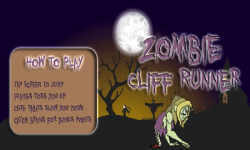 Zombie Cliff Runner screenshot 1/3