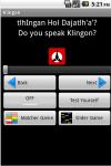 Learn Klingon Fast screenshot 2/6