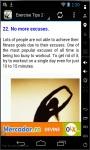 100 Exercise Tips 2014 screenshot 2/3