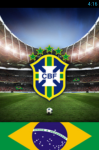 Brazil National Team Live Wallpaper screenshot 1/6