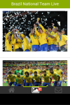 Brazil National Team Live Wallpaper screenshot 3/6