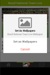 Brazil National Team Live Wallpaper screenshot 6/6