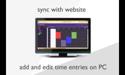 myTime - time tracking screenshot 2/6