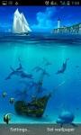 Ocean Dolphins Live Wallpaper screenshot 1/3