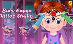 Tattoo Artist-Coloring Games-Baby Games for girls screenshot 1/5