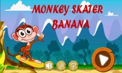 Monkey Banana Skater  screenshot 1/6